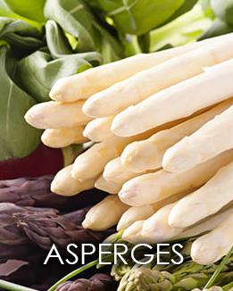 Asperges bij restaurant Viersprong